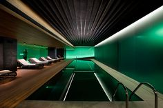 Spa at the Mandarin Oriental hotel Barcelona by Patricia Urquiola