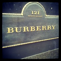The new flagship Burberry store on Regent Street. Epic space.