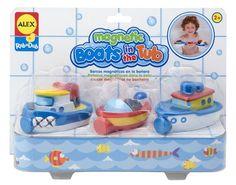 #puericultura Carletto 52608231 – Barcos magnéticos para la bañera (3 unidades)