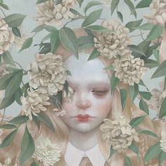 I found these drawings and illustration via booooooom and really love them. They are made by the Taiwanese based artist Hsiao-Ron Cheng and I am her newest fan! Art And Illustration, Flowers Illustration, Floral Illustrations, Fantasy Kunst, Fantasy Art, Arte Dope, Superflat, Inspiration Art, Poster S
