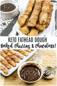 These keto fathead churros are a MUST TRY - seriously though. If you're looking for some delicious keto desserts that just so happen to also be some sweet fathead desserts. Low Carb Sweets, Low Carb Desserts, Low Carb Recipes, Diabetic Desserts, Churros, Mexican Food Recipes, Snack Recipes, Flour Recipes, Smoothie Recipes
