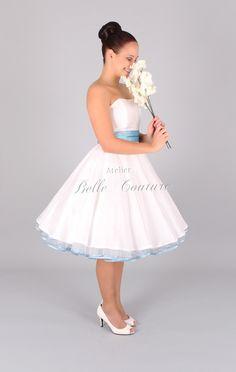 50er Jahre Petticoat Brautkleid Lilou