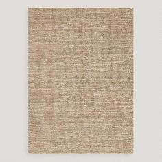 $399.99  8x10 Size One of my favorite discoveries at WorldMarket.com: Beige Deca Flat-Woven Jute Rug