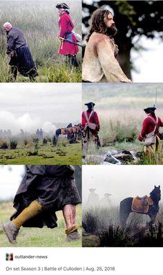 Culloden battle scenes