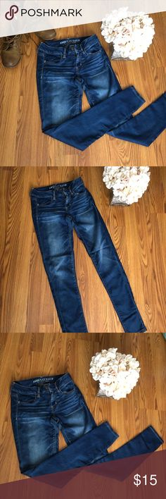 American Eagle 🦅 Jeggings Súper Stretch 👖 American Eagle 🦅 Jeggings Súper Stretch 👖   Size 4 American Eagle Outfitters Jeans Skinny