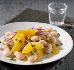 Bohnen-Orangen-Salat - [ESSEN UND TRINKEN]