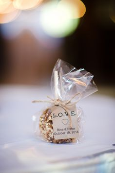Apple Wedding Favors