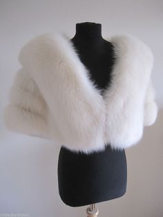 White Fur Stole >> 33 Best Wedding Stole Muff Images In 2015 Fur Stole White Fox