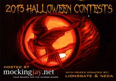 Enter Mockingjay.net's 2013 Hunger Games Halloween Contests - We have some awesome prizes. It ends at Midnight PT so send your photos in.