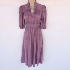 Pretty in Purple! That's how you'll feel in this sweet number.