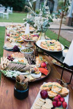 Lace On Timber Elegant Summer Wedding Wedding Canapes, Wedding Lunch, Wedding Reception Food, Table Wedding, Luxe Wedding, Our Wedding Day, Wedding Summer, Wedding Bride, Wedding Flowers