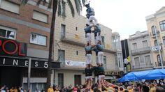 Castellers de Caldes - 4d7 - Badalona 18/11/2012