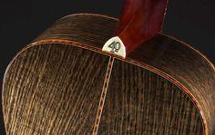 The Ghost Oak :: Santa Cruz Guitar Company Infinity Table, Acoustic Guitar, Ukulele, Bling, Awesome, Epoxy, Tables, Music, Room
