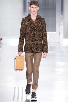 Louis Vuitton - Fall 2015 Menswear - Look 14 of 39