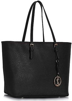 4fabd000094b3 Ladies Fashion Desinger Quality Shopper Bags Women s Trendy Hotselling  Handbags Large Size Bag CWS00297 (Black