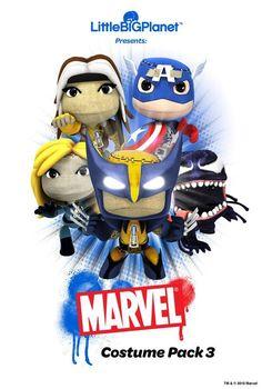little big planet marvel costume pack 3 #7 on my wish list
