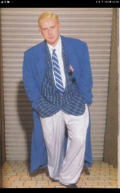 Holly Johnson looking so dapper and healthy in the mid Holly Johnson, Frankie Goes To Hollywood, Dapper, Beautiful Men, Healthy, Style, Fashion, Cute Guys, Swag