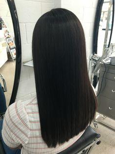 Long hair, brunette