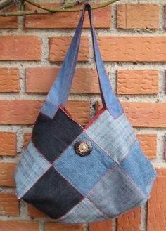 I've made this bag out of cotton, looks great in denim