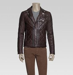 friggin salivating over this leather biker jacket from the gucci mens collection!!