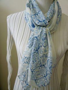 Long Soft Chiffon Scarf Wrap Shawl  Scarves Women by classy10