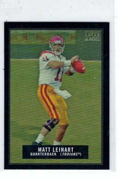 Sports Cards Football - 2009 Topps Magic Mini (Blk Border) Matt Leinart