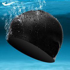 New Arrive Adult bathing cap Men&women swimming caps Earmuff cap Swimming waterproof 100% pure silica gel 6 colors Free shipping