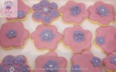 matching flower biscuits Biscuits by Sugar and Icing Cakes Birmingham: Image
