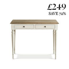 The Florence: French-style desk for only £249