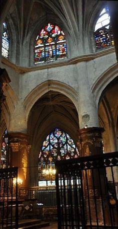 L'église Sainte-Madeleine. Troyes. Marne. Champagne