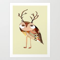 Be Yourself Art Print by Ashley Percival Illustrator - $18.00