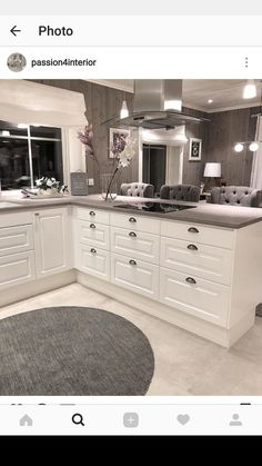 Design & colour ideas The post Design & colour ideas appeared first on Best Pins for Yours - Kitchen Decoration Free Kitchen Design, Kitchen Room Design, Home Decor Kitchen, Kitchen Interior, New Kitchen, Home Kitchens, Dream Kitchens, Sliding Glass Door, Glass Doors