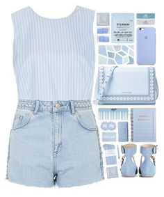 """2211 // D e l p h i n u s"" by arierrefatir ❤ liked on Polyvore featuring MDS Stripes, Topshop, MICHAEL Michael Kors, See by Chloé, Juliska, Starskin, adidas, Vera Bradley, Zara Home and Urban Decay"