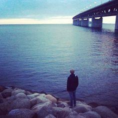 bengtssonsofia@ instagram. #boy #sea #ocean #bridge #öresund #oresund #öresundsbron #oresundsbron #sky #sunset #beautiful #style #outfit #impala #impalamalmö #iphone #sweden #swedish #sverige #instagram #statigram
