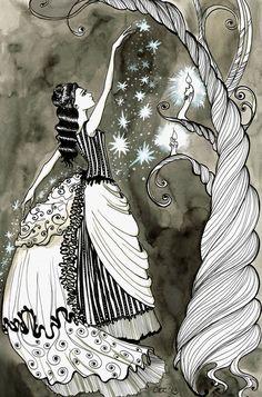 Celia Bowen by SteakandUnicorns.deviantart.com on @deviantART Night Circus, Circus Party, Illustrations, Illustration Art, Le Bateleur, Book Characters, Book Nerd, The Magicians, Fantasy Art