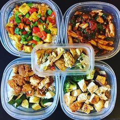 Meal prep is complete for @but_its_maddie! She has a mix of proteins veggies rice  and pasta portioned out and ready to be eaten! - Failing to prepare is preparing to fail! The more you have ready in advance the less  likely you are to give in to temptations. Download @mealplanmagic to prep for success! - ALL-IN-ONE TOOL & GUIDES -  Build Custom Plans & Set Nutrition Goals  BMR BMI & Max Rate Calculator  Get Your Macros by Body Type & Goal  Grocery Lists Automated to Weekly Needs  Accurate…