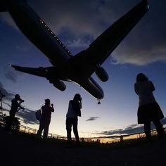 Night flight - Spotting time!! Lindo !!!