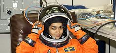 NASA - Kalpana Chawla was an American astronaut - Whirlpool Galaxy-Andromeda Galaxy-Black Holes Pierre Cardin, Piercings, Calvin Klein, Moda Emo, Nasa Astronauts, Indian Astronauts, Whirlpool Galaxy, University Of Texas, Space Shuttle