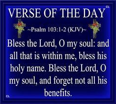 Psalm 103:1-2
