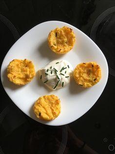 Potato - carrot muffins