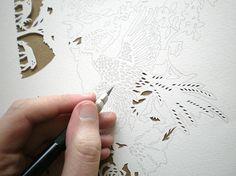 #papercut #art #workinprogress