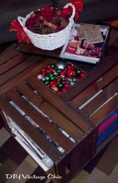 Vintage Wine Crate Coffee Table :: Hometalk