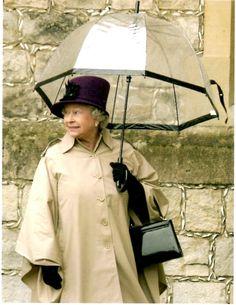 Queen Elizabeth's Birdcage Umbrella by Fulton | The Beauty Guide - fulton umbrellas pictures