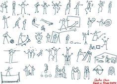 Resultado de imagen de Stick Figure Drawing