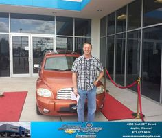 Congratulations to James Winfrey on your new car  purchase from Bryan Thorpe at Crossroads Chevrolet Cadillac! #NewCar