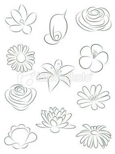 How To Draw An Easy Flower Kids Drawing Pinterest Drawings