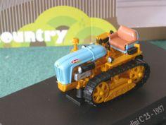 Landini C 25 1957 Tractor Traktor Schlepper orange blau 1:43