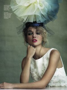 Oleg Cassini High Neck Organza Ball Gown - As Seen in You & Your Wedding Magazine
