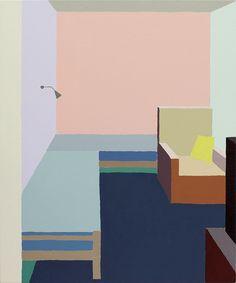 It's Nice That | Zsofia Schweger's paintings depict her Hungarian home frozen in…