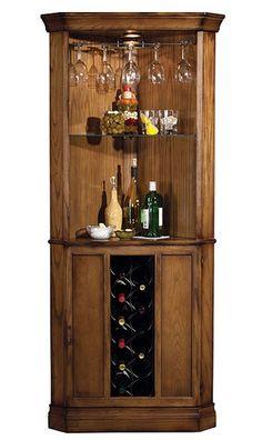 690000 Howard Miller Cherrytraditional Corner Wine Cabinet Piedmont Bar Pinterest